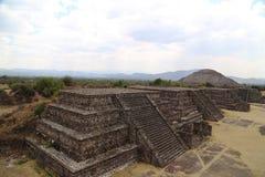 Пирамиды в Teotihuacan, Мексике Стоковое Изображение RF