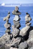 Пирамиды камня Сиэтл Стоковое фото RF