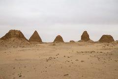 Пирамиды на Nuri стоковая фотография rf