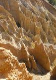 Пирамиды образований песка Стоковое фото RF