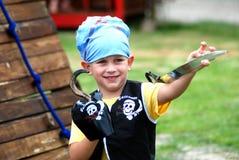пиратсво мальчика немногая Стоковые Изображения