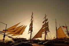 Пиратский корабль, звезда Индии стоковое изображение rf