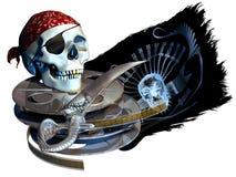 пиратство культуры Стоковые Фото