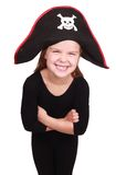 пират девушки Стоковые Фотографии RF