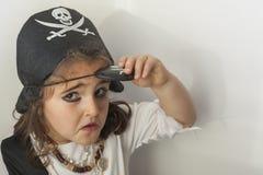 пират девушки costume Стоковые Фото