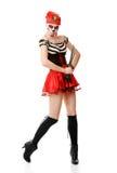 Пират женщины с шпагой costume halloween Стоковое Изображение RF