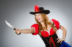 Пират женщины Стоковые Фото