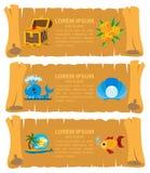 пират карты для того чтобы treasure путь иллюстрация штока