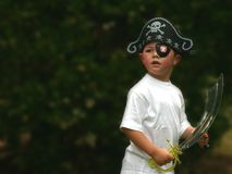 пират мальчика Стоковые Изображения RF