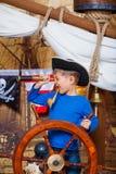 Пират мальчика Стоковые Фотографии RF