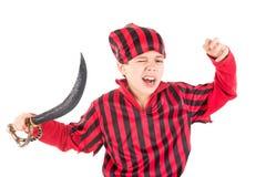 Пират мальчика Стоковые Фото