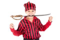 Пират мальчика Стоковое Фото