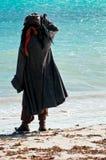 пират пляжа Стоковые Фотографии RF