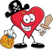пират сердца иллюстрация штока