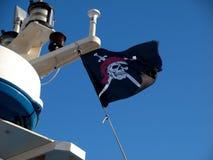 пират флага Стоковые Фотографии RF