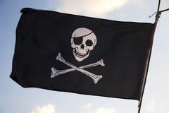 пират флага Стоковое фото RF