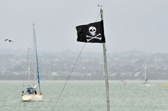 пират флага Стоковое Изображение RF