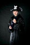 пират bottle2 Стоковое Изображение