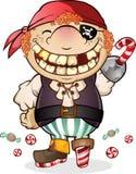 пират costume конфеты Стоковые Изображения RF