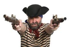 пират muskets стоковая фотография