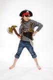 пират s девушки costume маленький Стоковое фото RF