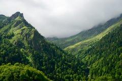 Пиренеи в Франции стоковое фото rf