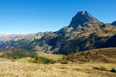 Пиренеи в Франции стоковое изображение rf