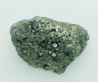 Пирит кристаллический стоковое изображение
