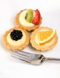 пироги заварного крема Стоковые Изображения RF