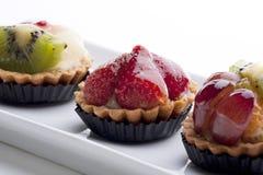 пироги плодоовощ стоковые фото