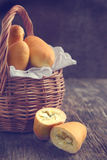 Пироги риса и яичка стоковое фото
