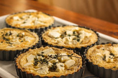 Пироги сыра и лука овец Стоковое Изображение RF