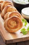 Пироги сыра печенья Phyllo Стоковое Изображение RF