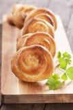 Пироги сыра печенья Phyllo Стоковая Фотография RF