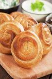 Пироги сыра печенья Phyllo Стоковые Изображения