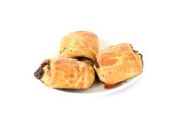 Пироги с маком из печенья слойки Стоковое Изображение
