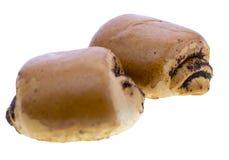 Пироги с маком из печенья слойки Стоковые Изображения