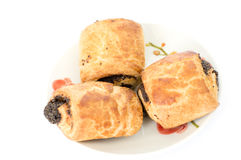 Пироги с маком Стоковое Фото