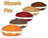 Пироги Whoopie Стоковые Фото