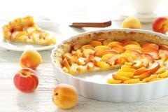 Пирог абрикоса Стоковая Фотография RF