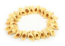 Пирог ананаса изолированный на белой предпосылке стоковая фотография rf
