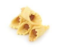 Пирог ананаса изолированный на белой предпосылке стоковые фото