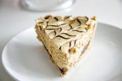 Пирог арахисового масла Стоковое Фото