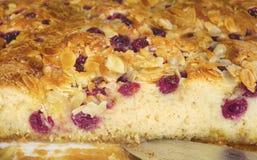 Пирог вишни, конец вверх Стоковое Изображение RF