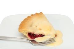 Пирог вишни стоковые изображения rf