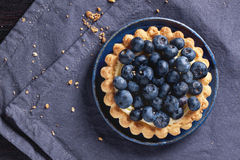 Пирог голубики Стоковое фото RF