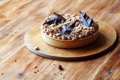 Пирог груши с фундуками Стоковое Изображение RF