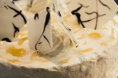 Пирог десерта торта Стоковое Фото