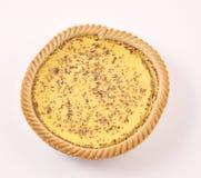 пирог заварного крема Стоковая Фотография