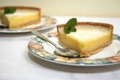 Пирог лимона Стоковые Изображения